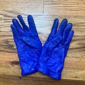 J Crew Cashmere-Lined Leather Gloves